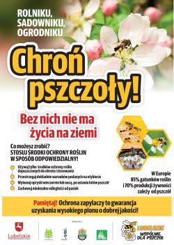 """Kampania """"Lubelskie - wspólnie dla pszczół"""""""