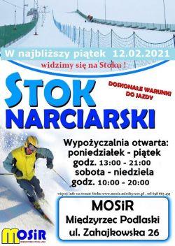 Otwieramy stok narciarski