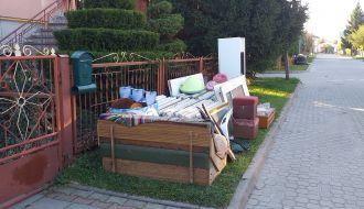 Jesienna zbiórka wielkogabarytów