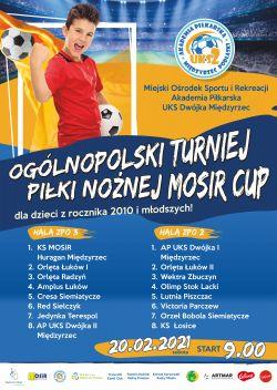 Turniej piłki nożnej MOSIR Cup